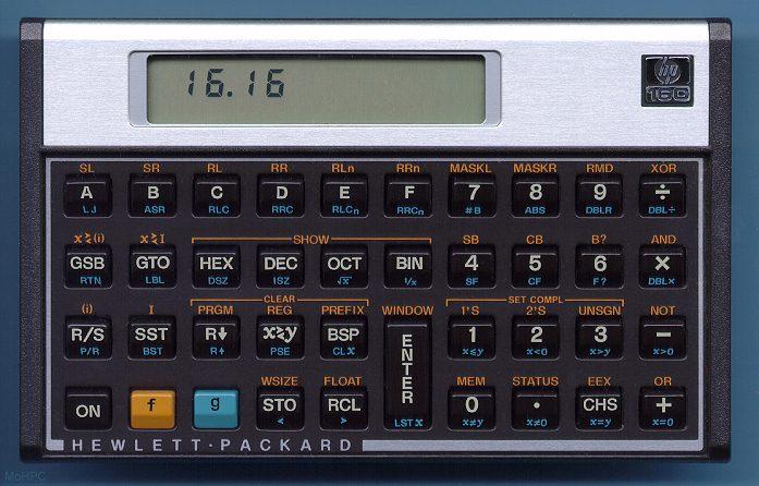 john graham cumming how i love my hp 16c rh blog jgc org HP-16C Manual PDF HP 12C Calculator