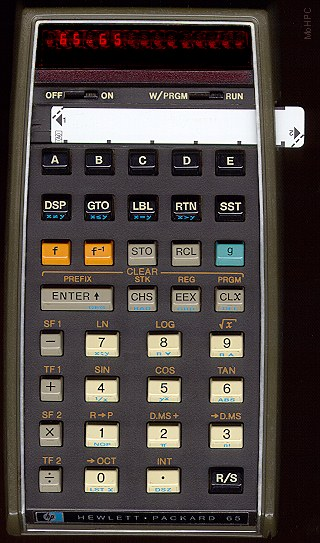 hp65 prog calculator