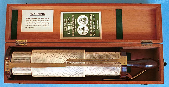 how to use a cylindrical slide rule