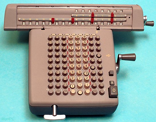 four function mechanical calculators display 59k